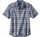 Tommy Bahama Marcello Plaid Camp Shirt