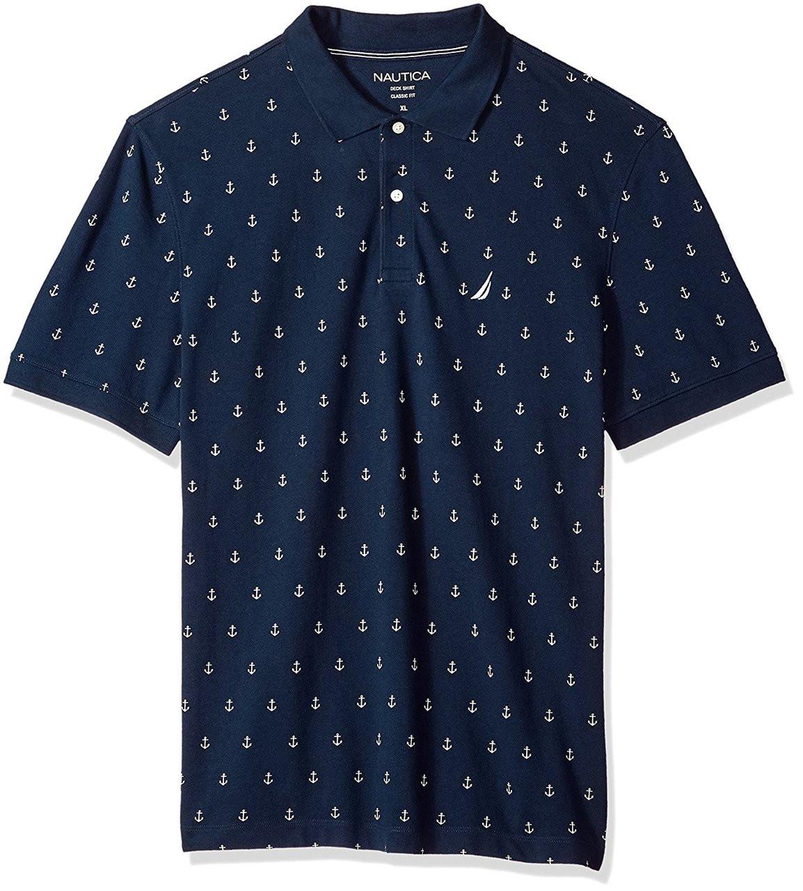 Nautica Short Sleeve Classic Polo Shirt Dick Anthony Ltd