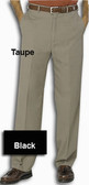 Haggar Reprieve Stria Flat Front Men's Pants