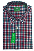 Forsyth of Canada Classic Fit Non-Iron Long Sleeve Multi Check Sport Shirt 7961-SRS