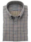 Enro Non-Iron Milton Double Faced Twill Button Down Collar Sportshirt