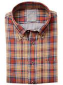 Enro Non-Iron Franklin Double Faced Twill Button Down Collar Sportshirt