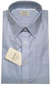 Enro Non-Iron Regular Collar Blue Herringbone Stripe Dress Shirt