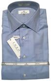 Enro Non-Iron Spread Collar Herringbone Dress Shirt