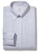 Enro Non-Iron Button Down Collar Tattersal Check Dress Shirt