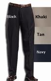 Haggar Mynx Gabardine Flat Front Big Size Men's Pants