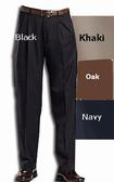 Haggar Mynx Gabardine Pleated Front Big Size Men's Pants