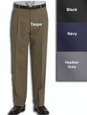 Haggar Gabardine Comfort Luxe Pleated Front Men's Dress Pants