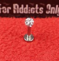 Swarovski Crystal Gem Ball Flat Back 16g 1/4 4mm Clear