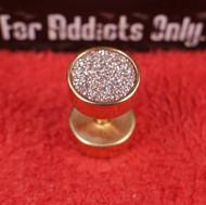 Micro-Gem Rose Gold Unplugs 8mm