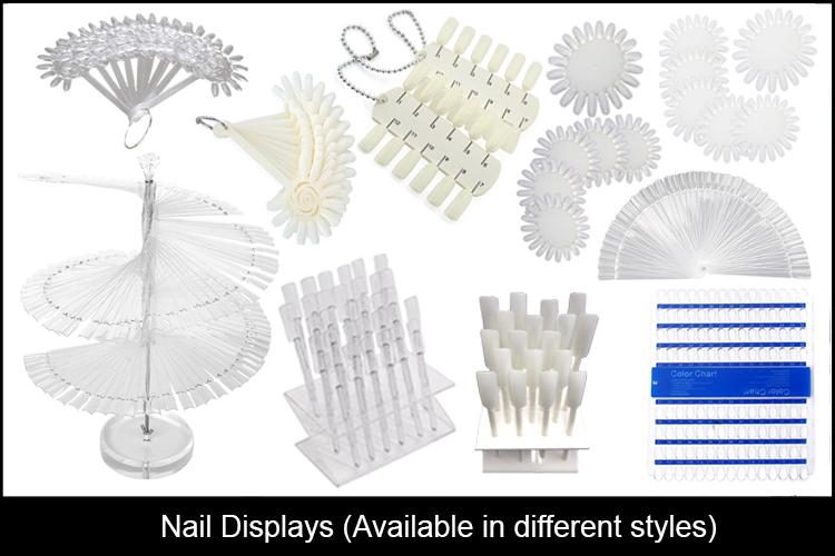 Nail Tips Display