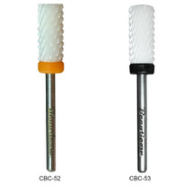 "3/32"" Flat Top Small Barrel Ceramic Nail Drill Bit - Grit Size: (XC, XXC)"