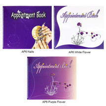 6 Column Appointment Book (Various Designs)
