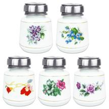4 Oz Porcelain Liquid Pump Dispenser Bottle
