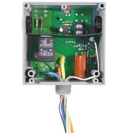 FUNCTIONAL DEVICES FUNRIBTE02B Enclosed Relay Hi/Low sep 20Amp SPDT 208-277Vac power + 5-30Vac/dc control