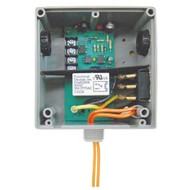 FUNCTIONAL DEVICES FUNRIBTELS Enclosed Relay Hi/Low sep 10Amp SPST + Override 10-30Vac/dc pwr + 5-30Vac/dc
