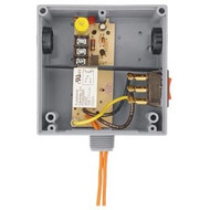 FUNCTIONAL DEVICES FUNRIBTH1S Enclosed Relay Hi/Low sep 10Amp SPST + Override 10-30Vac/dc/208-277Vac