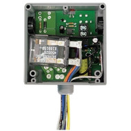 FUNCTIONAL DEVICES FUNRIBTE02P Enclosed Relay Hi/Low sep 20Amp DPDT 208-277Vac power + 5-30Vac/dc control