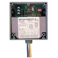 FUNCTIONAL DEVICES FUNRIBTD2401B Enclosed Time Delay Relay Hi/Low sep 20Amp SPDT 24Vac/dc 120Vac