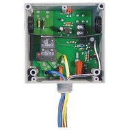 FUNCTIONAL DEVICES FUNRIBTE01B Enclosed Relay Hi/Low sep 20Amp SPDT 120Vac pwr + 5-30Vac/dc control