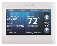 Honeywell TH9320WF5003 WiFi 9000 Color Touchscreen Thermostat 3H 2C