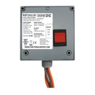 FUNCTIONAL DEVICES FUNRIBT24S2-NC Enclosed Relay Hi/Lo sep 20Amp DPST-NC + Override 24Vac/dc