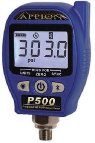 Appion P500 Compound 500PSI Wireless Low Pressure Gauge