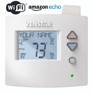 Venstar T3900 Voyager Residential Programmable Thermostat 4H/2C Humidity Control With ACC-VWF1 WiFi Module