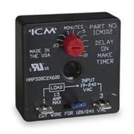 ICM102 DELAY ON MAKE TIMER ICM102B