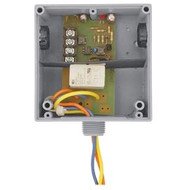 FUNCTIONAL DEVICES FUNRIBTELC Enclosed Relay Hi/Low sep 10Amp SPDT 10-30Vac/dc power + 5-30Vac/dc control