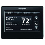 Honeywell TH9320WFV6007 Voice Control WiFi 9000 Color Touchscreen Thermostat Black