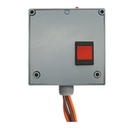 FUNCTIONAL DEVICES FUNRIBT24S2 Enclosed Relay Hi/Lo sep 20Amp DPST-NO + Override 24Vac/dc