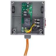 FUNCTIONAL DEVICES FUNRIBT24SB Enclosed Relay Hi/Low sep 20Amp SPST + Override 24Vac/dc