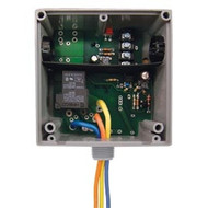 FUNCTIONAL DEVICES FUNRIBTE24B Enclosed Relay Hi/Low sep 20Amp SPDT 24Vac/dc power + 5-30Vac/dc control