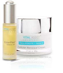 Vital Assist Renewal Cream & EsterPlex Beauty Oil