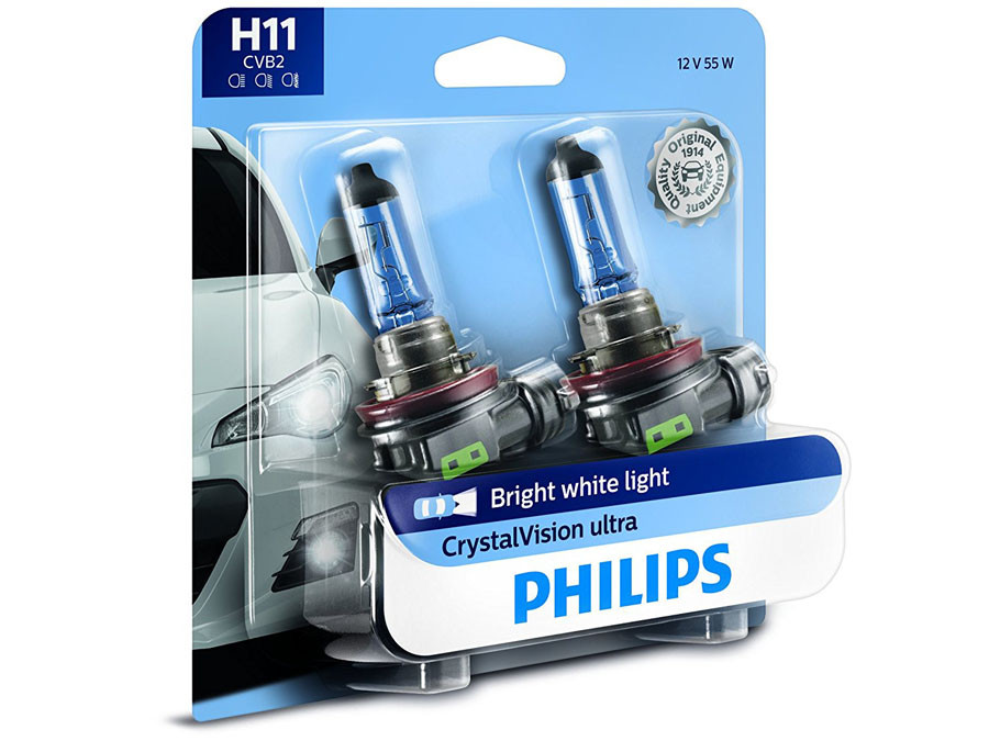 Enclosed package of Philips Crystal Vision H11
