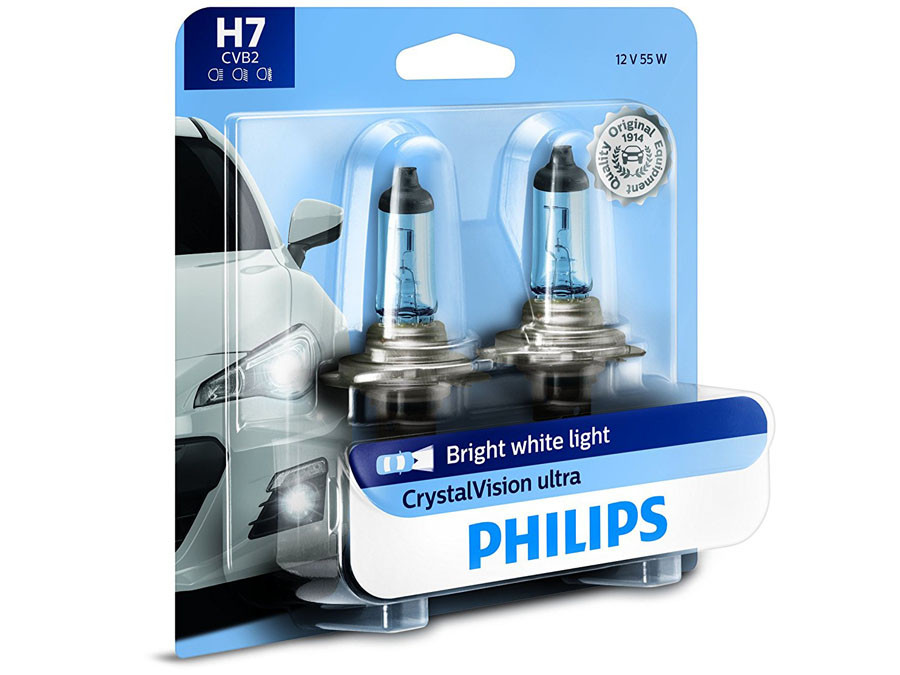 Enclosed package of Philips Crystal Vision H7