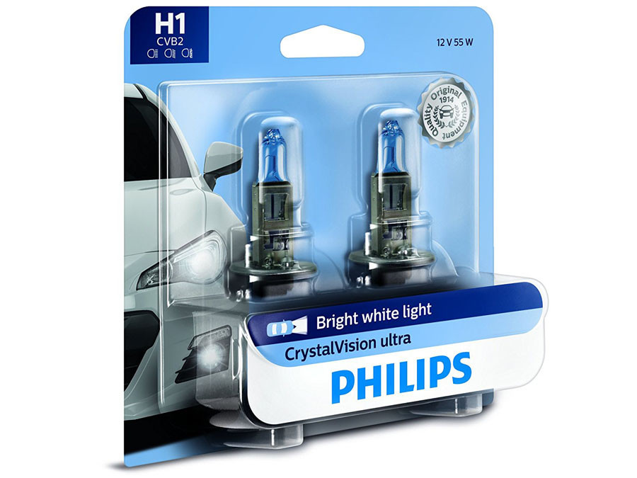 Enclosed package of Philips Crystal Vision H1