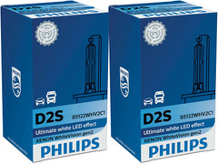 Dual packages of Philips White Vision Gen2 D2S