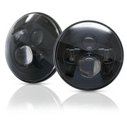 "LPF 7"" inch Round LED Headlight Hi/Low Headlight Ver.1 for JEEP Wrangler CJ LJ TJ JK & Hummer H1 H2 (Pack of 2)"