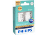 Enclosed package of Philips Ultinon LED Amber Interior/Exterior bulbs 3057