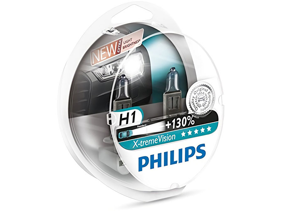Enclosed package of PHILIPS X-tremeVision +130% H1