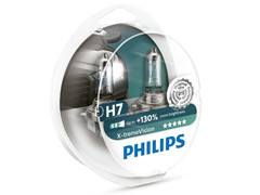 Enclosed package of Philips X-treme Vision +130% H7