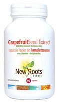 New Roots Grapefruit Seed Extract 406 mg, 90 Capsules | NutriFarm.ca