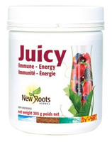 New Roots Juicy Immune - Energy, 305 g | NutriFarm.ca