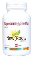 New Roots Magnesium Bisglycinate Plus 150 mg, 120 Capsules | NutriFarm.ca