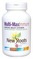 New Roots Multi-Max Immune, 240 Capsules | NutriFarm.ca