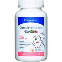 Progressive Complete Calcium for Kids, 120 Chewable Tablets | NutriFarm.ca