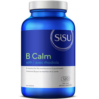 SISU B Calm with Rhodiola, 120 Vegetable Capsules   NutriFarm.ca