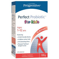 Progressive Perfect Probiotic for Kids, 120 g | NutriFarm.ca